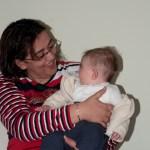 küçük anneannemle gülüşüyoz
