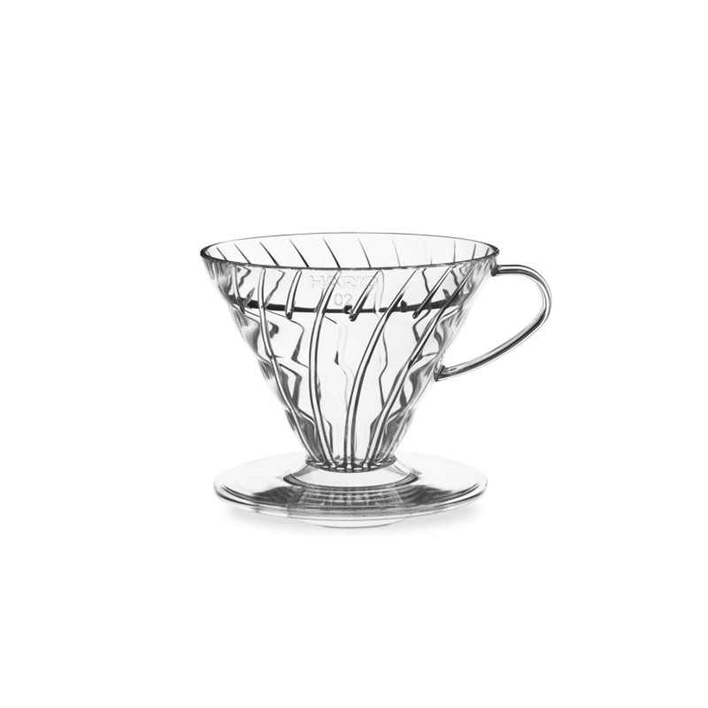 Hario Coffee Dripper V60 02 Clear Plastic