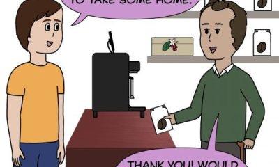 Es el primer cómic de Crack a Coffee para el fin de semana