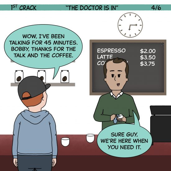 1st Crack Coffee Comic 5 de junio de 2021 Panel 4