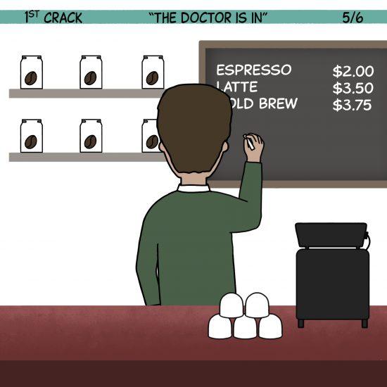 1st Crack Coffee Comic 5 de junio de 2021 Panel 5