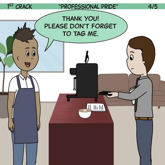 Primer cómic de Crack a Coffee para el fin de semana - 11 de septiembre de 2021 Panel 4
