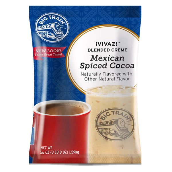 Big Train Vivaz Mexican Spiced Cocoa - 3.5 Lb. Bag