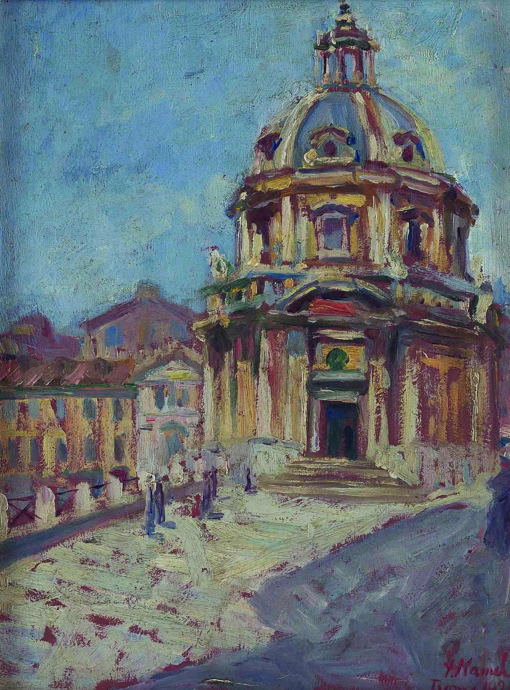 Tempietto in Rome  Barjeel Art Foundation