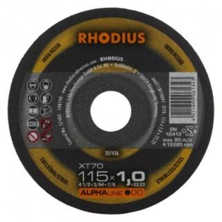 Rhodius XT 70 Vágókorong acélhoz Minden termék