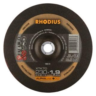 Rhodius XTK 70 Vágókorong acélhoz 230 x 22,2 x 1,9 Minden termék