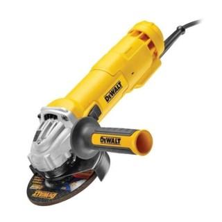 DeWALT DWE4233-QS Sarokcsiszoló biztonsági kapcsolóval (1400W/125mm) Minden termék