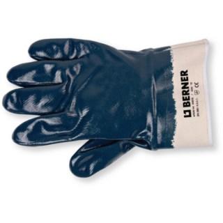 BERNER Kesztyű Nitril kék Minden termék