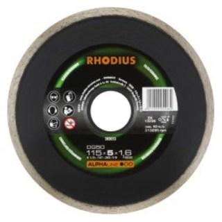 Rhodius DG 50 zárt peremű gyémánt vágótárcsa, csempe, márvány Minden termék