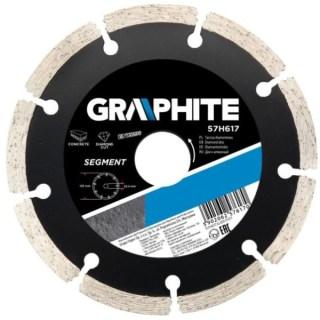 GRAPHITE gyémánt vágótárcsa 115mm szegmens Minden termék