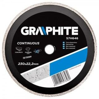 GRAPHITE gyémánt vágótárcsa 230mm vizes Minden termék