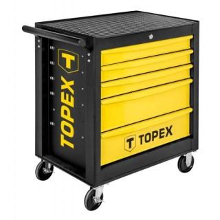 Topex műhelykocsi, fém, 5 fiókkal 79R501 Minden termék