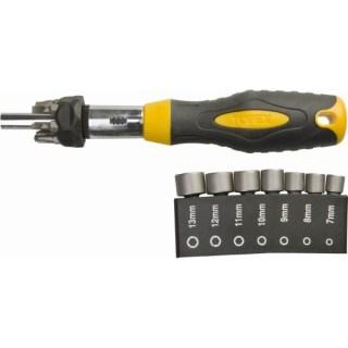 Topex Csavarhúzó készlet racsnis 14 részes 39D523 Minden termék