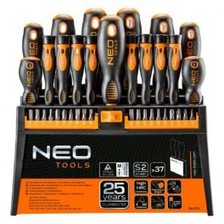 Neo csavarhúzó készlet + bit 37 részes Minden termék