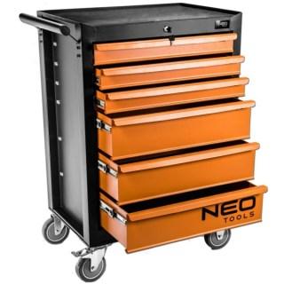 Neo Szerszámkocsi 6 fiókkal, 680 x 460 x 1030 mm 84-221 Minden termék