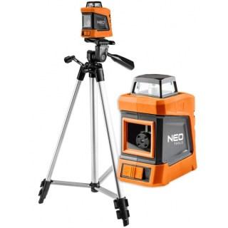 Neo Lézeres Szintező 15m 360° 1,5 M állvánnyal, kofferben 75-102 Minden termék