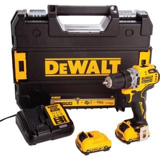 DeWALT DCD701D2 Ütvefúró-csavarozó Fúrógép