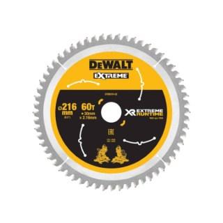 DeWALT DT99573 XR FlexVolt Körfűrészlap 250mm x 30mm 60T Minden termék