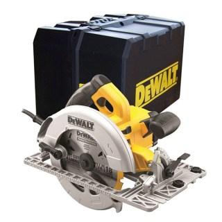 DeWALT DWE575K-QS Kézi körfűrészgép kofferben (1600W/190mm) Minden termék