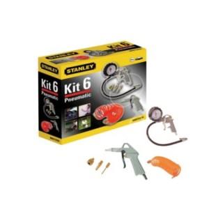 Stanley 6 részes levegős szerszám készlet (Kit6) Minden termék