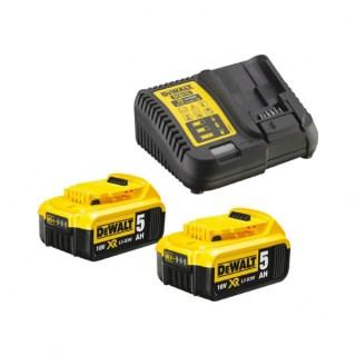 DeWALT DCB115P2-QW Akku pakk 2 x 5Ah XR 18V Minden termék