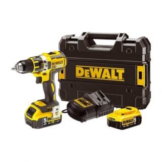 DeWALT DCD791P2-QW akkus fúrócsavarozó 18V 2×5,0Ah Minden termék