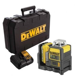 DeWALT DCE0811D1G-QW Akkus voallézer kofferben 360° + keresztlézer Minden termék