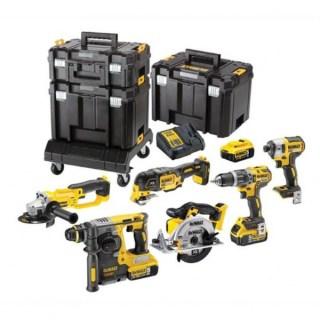 DeWALT DCK654P3T-QW 6 részes akkus gépcsomag Minden termék