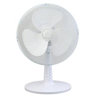 "Asztali ventillátor 12"", Fehér"