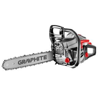 GRAPHITE Láncfűrész 2 KW 16″ (400mm) benzines Láncfűrész