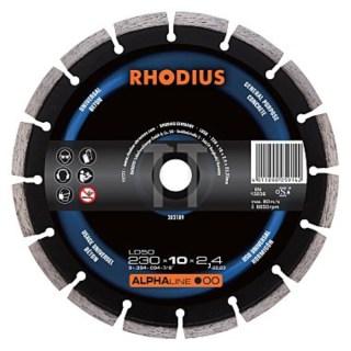 Rhodius LD 50 univerzális gyémánt vágótárcsa 230 x 22,2 x 2,4 Minden termék