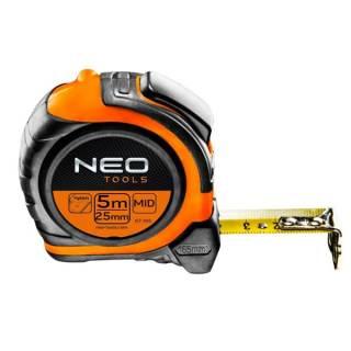 Neo mérőszalag 5m/25mm mágneses klikk stop Minden termék