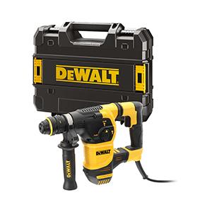 DeWALT D25334K-QS Fúró-vésőkalapács cseretokmánnyal TSTAK kofferben (950W/3,5J) Minden termék