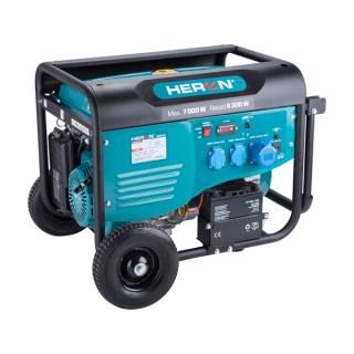 Benzinmotoros áramfejlesztő, max 6800 VA, egyfázisú, önindítós Minden termék