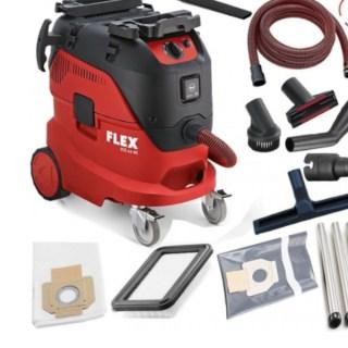 FLEX VCE 44 L AC takarító szettel  Ipari porszívó automatikus szűrő tisztító rendszerrel, 42 l, L osztály Minden termék