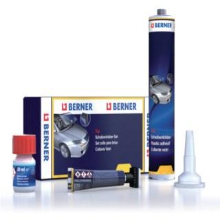 BERNER Szélvédőragasztó készlet Top 310 ml Minden termék