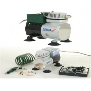 DEDRA Mini kompresszor festőkészlettel 30W/3,5bar Minden termék