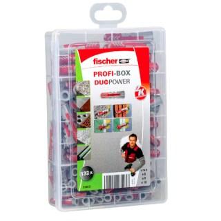 FISCHER Profi-box Duopower tipli készlet 132 db Minden termék