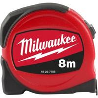 MILWAUKEE SLIMLINE mérőszalag 8m, 25mm (48227708) Minden termék