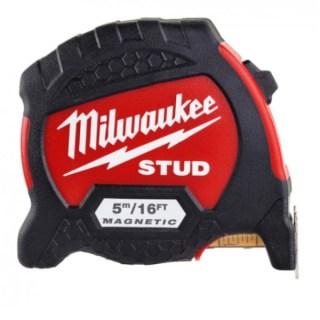 MILWAUKEE STUD Mágneses mérőszalag 5m/16láb/33mm (4932471628) Minden termék