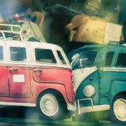 Toy VW Auto Accident