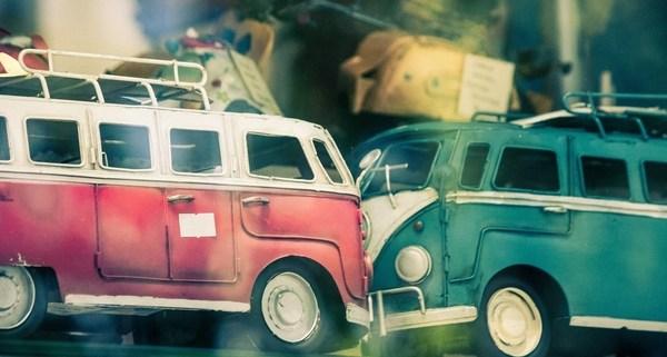 Toy VW Auto Accident