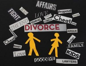 divorce words