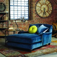 Royal Blue Velvet Sofa Uk Leather Reclining Sectional With Chaise Rough Luxe Your House Barker And Stonehouse