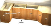 Kitchen Corner Base Cabinets