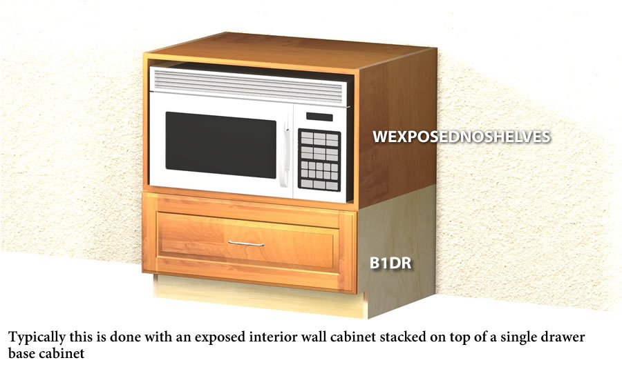 Under Counter Microwave Cabinet  BestMicrowave