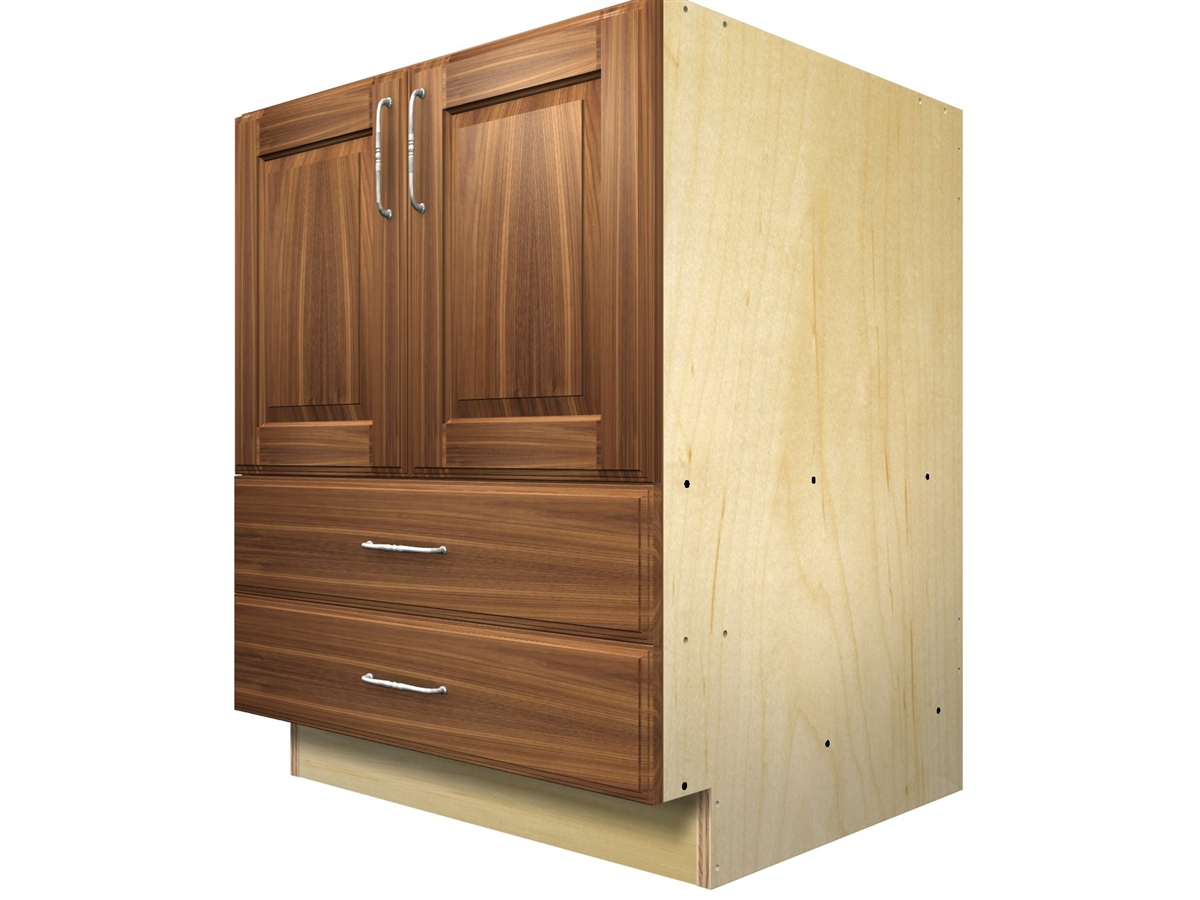 2 door and 2 bottom drawers base cabinet