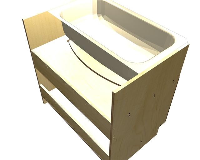 2 door farm sink base cabinet
