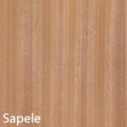Sapele Unfinished Wood Veneer 4X8