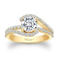Barkev's Yellow Gold Engagement Ring 7848LY